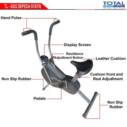 Sepeda Fitness TL-8202 WIND CYCLE WITH COVER 1 detailed_tl_8202